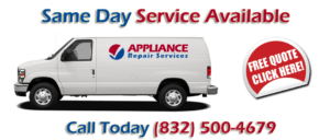 Richmond TX Refrigerator Repair GE-Whirlpool-Kenmore